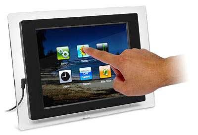Touchscreen Wi-Fi Photo Frames