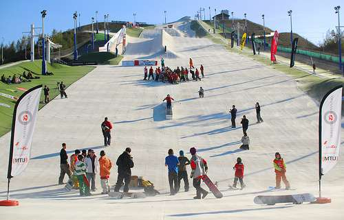Snowsports in the Summer
