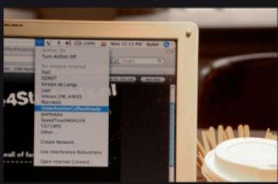 Wi-Fi Coffee Shop Ads