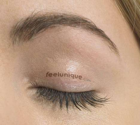 Renting Out Eyelids As Ad Space