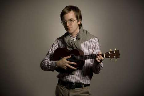 Dent May & His Magnificent Ukulele: He's Nerdy, But Talented