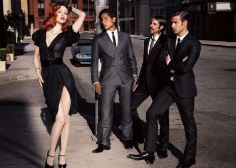 Retro Street-Glam Fashion