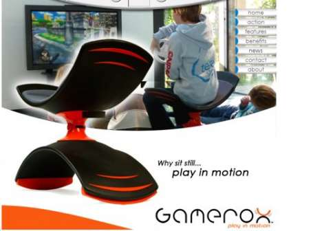 The Gamerox Chair Tones Your Buns While You Surf the Web