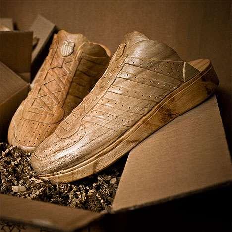 Modern Wooden Footwear