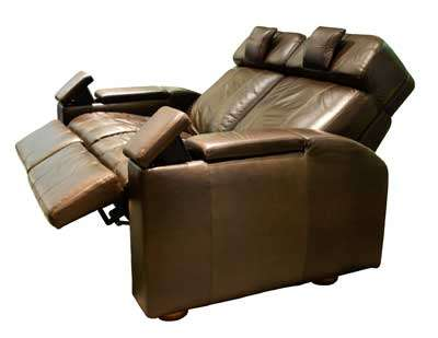 Integrated Home Theater Seating