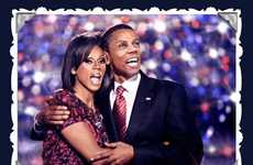 Presidential Drag Queens - RuPaul Poses as the Obamas for 'Drag Race' Holiday Promo