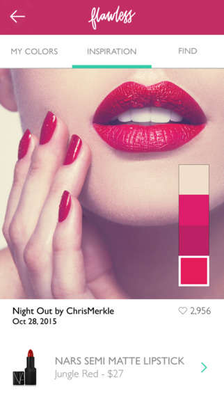 Custom Lipstick Apps - The 'Flawless Makeup' App Lets Users Find Makeup Shades They Adore