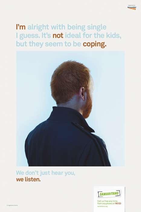 Faceless Suicide Prevention Ads