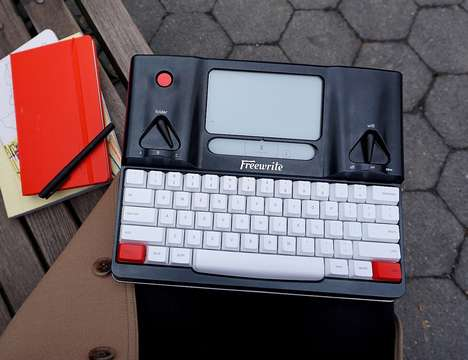 Digitally Connected Typewriters
