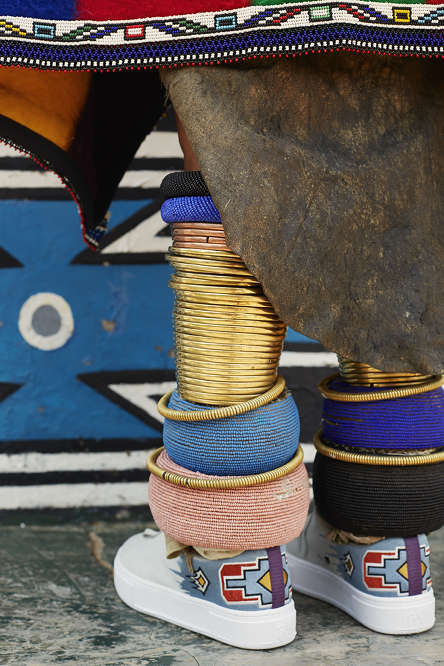 African Art Sneakers - The Eytys x Esther Mahlangu Sneakers Boast Cultural Aesthetics