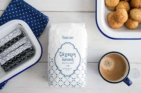 Greek Baking Sugar Branding