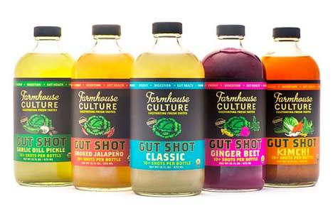 Exotic Digestive Beverages - Farmhouse Culture's Probiotic Beverages Encourage Good Gut Health