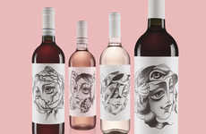 Animalistic Wine Labels