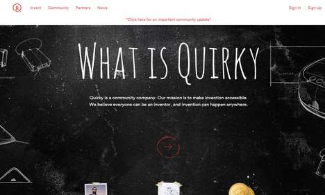 Invention-Promoting E-Retailers - Quirky is a Web-Based Marketplace That Promotes New Product Ideas
