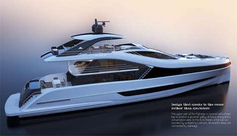 Luxe Flybridge Yachts