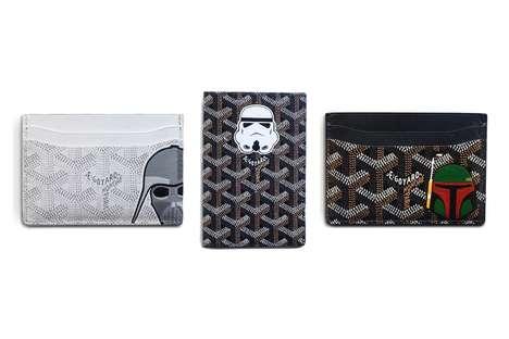 Intricate Sci-Fi Cardholders
