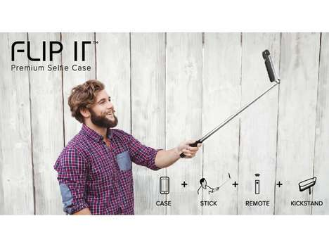 Selfie Stick Phone Cases