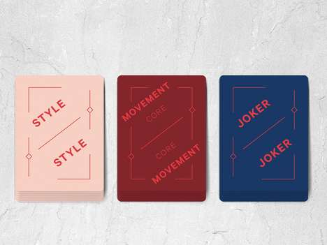 Fitness-Focused Playing Cards