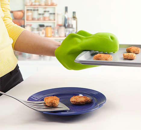 Prehistoric Oven Mitts