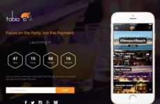 Bar Tab Payment Apps - The Soon-To-Be-Launched Tabio App is a Nightlife Smartphone Solution