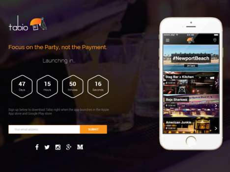 Bar Tab Payment Apps