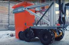 Garbage-Collecting Robots - The ROAR Project is Engineered to Collect Garbage Efficiently