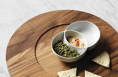 Mathematical Serving Crockery - The SAIC Diagram Snack Bowl is Inspired by the Venn Diagram