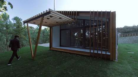 Rapidly Erected Modular Homes - The Gomos Homes Can Be Installed In Only Three Days