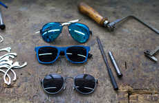 Repurposed Aluminum Sunglasses