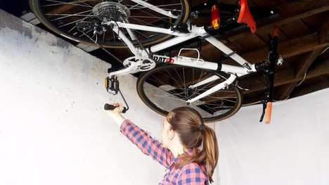 Space-Saving Bike Racks