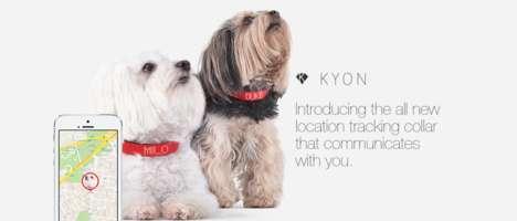 Behavior-Tracking Pet Collars