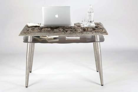 Naturalistic Office Desks