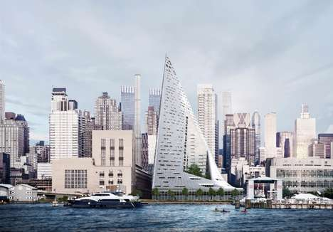 Sail-Inspired Coastline Condos