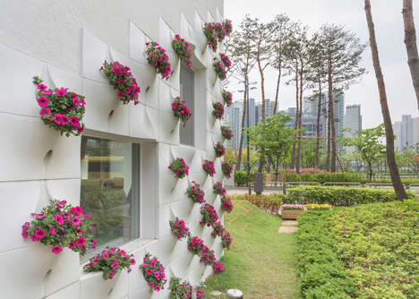 Plant-Accommodating Building Facades
