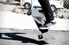 Carbon Fiber Longboards - The 121C Aileron Board Reuses Rocket Material for a Lightweight Design