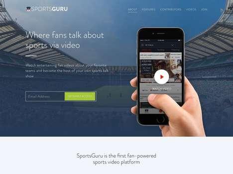 Sports Fan Video Apps
