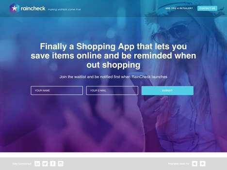 Shopping Wishlist Apps