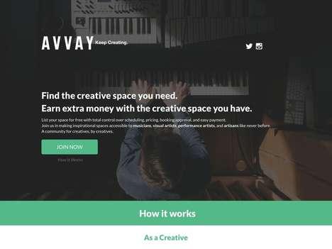 Creative Space Listings
