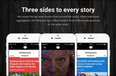 Bias-Eliminating News Apps - News Aggregation App Perspecs Offers Three Outlooks on Every Story