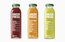 Recipe-Listing Juice Packaging - Green Press is a Cold-Pressed Juice Bar in Melbourne