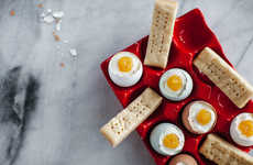 Deceptive Cheesecake Eggs - This Breakfast-Resembling Dessert is Made of Cheesecake and Shortbread