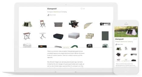 Story-Focused Recommendation Platforms - Listory Lets You Curate Product Collections With Reviews