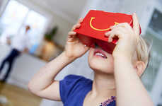 Kids Meal VR Packaging - McDonald's Sweden Creates a Happy Meal Box VR Headset