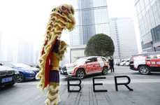 On-Demand Celebratory Dances - Uber China Hosted a Special Chinese New Year Service in 23 Cities