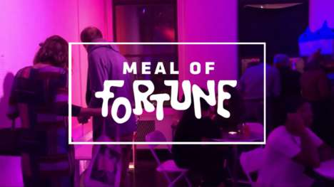 Gamified Pop-Up Eateries - The 'Meal of Fortune' Pop-Up is Part Restaurant and Part Arcade
