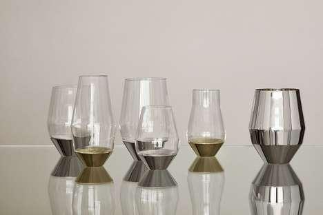 Stem-Free Wine Glasses
