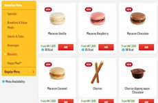 Fast Food Macaron Deliveries - This Fast Food Chain is Launching Macaron Delivery in South Korea