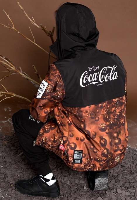 Soda Brand Streetwear Lines - The Stereo Vinyls x Coca-Cola Collection is a Unique Collaboration