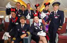 Character-Themed Disney Planes - The Walt Disney Airplane Experience Brings Magic to New Heights