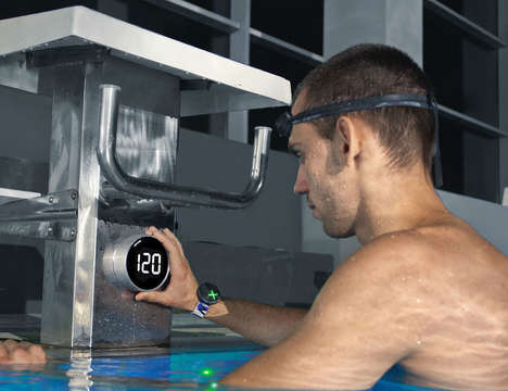 Lap-Tracking Swim Bracelets